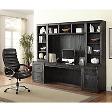 "Hudson Storage Desk with Hutches - 105""W, 8805007"