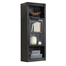 "Hudson Four Bookcase Hutch with Glass Door - 21""W x 54""H, 8804892"