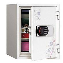 1.30 Cu Ft Fireproof Safe with Floral Design, PHS-1233F