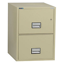 "Fireproof Two Drawer Vertical File - 25""D, PHS-LGL2W25"