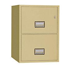 "Fireproof Two Drawer Vertical File - 31"" D, PHS-LTR2W31"