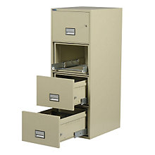 "Fireproof Four Drawer Vertical File - 31"" D, PHS-LTR4W31"