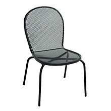 Bistro Armless Outdoor Metal Chair, PHX-6000