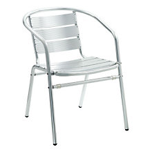 Luna Aluminum Outdoor Chair With Arms, PHX-6502