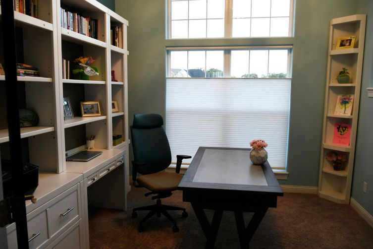 Post-Parker House Office Makeover