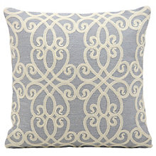 "kathy ireland by Nourison Scroll Pattern Accent Pillow - 18""W x 18""H, 8803807"