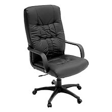 Posh High Back Leather Executive Chair, REN-1044