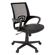 Curve Mesh Back Chair, REN-2900BK