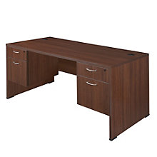 "Sandia Dual Pedestal Computer Desk - 60"", 8801587"