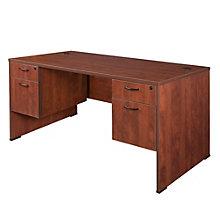 "Sandia Dual Pedestal Computer Desk - 66"", 8801588"