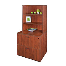 "Sandia 2 Drawer Lateral File with Hutch - 30""W, 8801591"