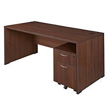 """Sandia Computer Desk with Mobile File - 60"""", 8801593"""