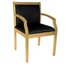 Regent Guest Chair with Fabric Upholstery, REN-9875