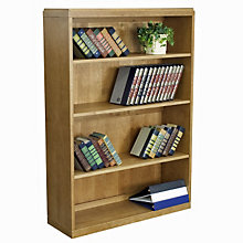 Solid Wood Four Shelf Bookcase, REN-BBC5236