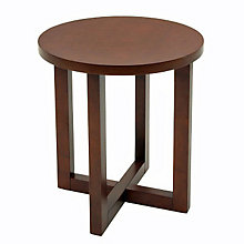 Round Wood End Table, REN-HWTE2123