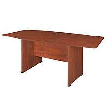 "Sandia Boat Shape Conference Table - 71""X35"", REN-SCTBS7135"