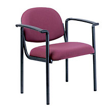 Designer Fabric Guest Chair with Arms, RMT-8011-FAB