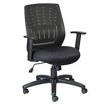 Stingray Task Chair with Mesh Back and Fabric Seat , 8802120