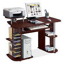 Compact Computer Desk with Storage, RTP-8104