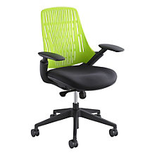 Plastic Back Task Chair in Fabric Seat, SAF-10978