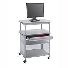 Mobile AV Cart with Drawer, SAF-8942