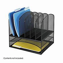 Filing/Mailbox Desktop Organizer, SAF-3255BL