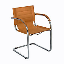 Flaunt Microfiber Fabric Guest Chair, SAF-3457F
