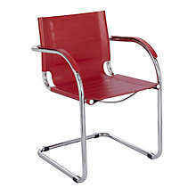 Flaunt Leather Guest Chair, SAF-3457L