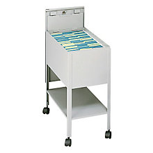 Mobile Letter Size Tub File with Lock, SAF-5361