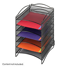 Onyx Six Compartment Desktop Organizer, 8801530