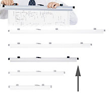 """30"""" Hanging Clamps - Set of 6, 8801669"""