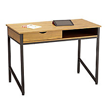 "Harrogate Veneer Desk with Drawer - 43.25""W, 8803255"