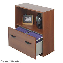 Modular Lateral File with Storage Shelf, SAF-9445