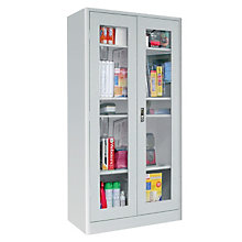 "Clear View  Radius Edge 36""W x 18""D Storage Cabinet , 8802325"