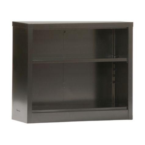 30 H Snap It Two Shelf Steel Bookcase