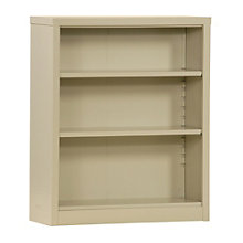 "Snap It Three Shelf Steel Bookcase - 42""H , 8802327"