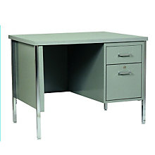 "Compact Steel Desk - 40"" x 24"", SAN-SP4024"