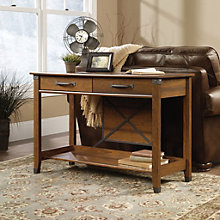 Carson Forge Two Drawer Sofa Table, SAU-10395