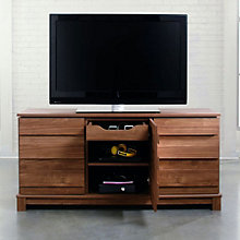 Soft Modern Storage TV Stand, SAU-10969