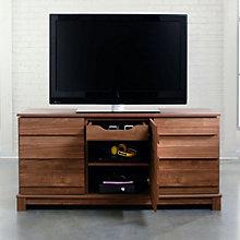 Soft Modern Storage TV Stand, SAU-10969