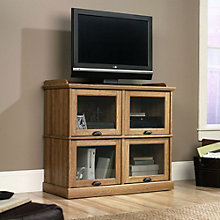 Barrister Lane TV Stand with Glass Doors, SAU-11059
