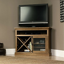 Barrister Lane Corner TV Stand, SAU-11061