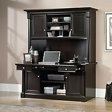 """Avenue Eight Credenza with Pull-Out Worksurface and Hutch - 62""""W x 22""""D, 8803127"""