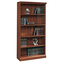 Camden County Five Shelf Bookcase, SAU-1785