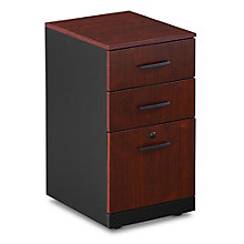Via Locking Three Drawer Vertical Mobile File , 8803856