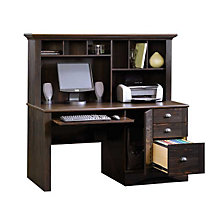 Harbor View Computer Desk with Hutch, SAU-401634