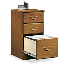 Orchard Hills Three Drawer Pedestal, SAU-401804