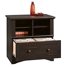 Harbor View Lateral File with Cubbyhole Storage, SAU-55552