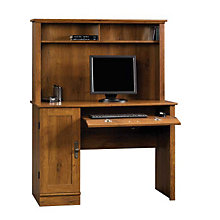 Harvest Mill Computer Desk with Hutch, SAU-404961
