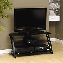 Deco Widescreen Glass TV Stand, SAU-408559